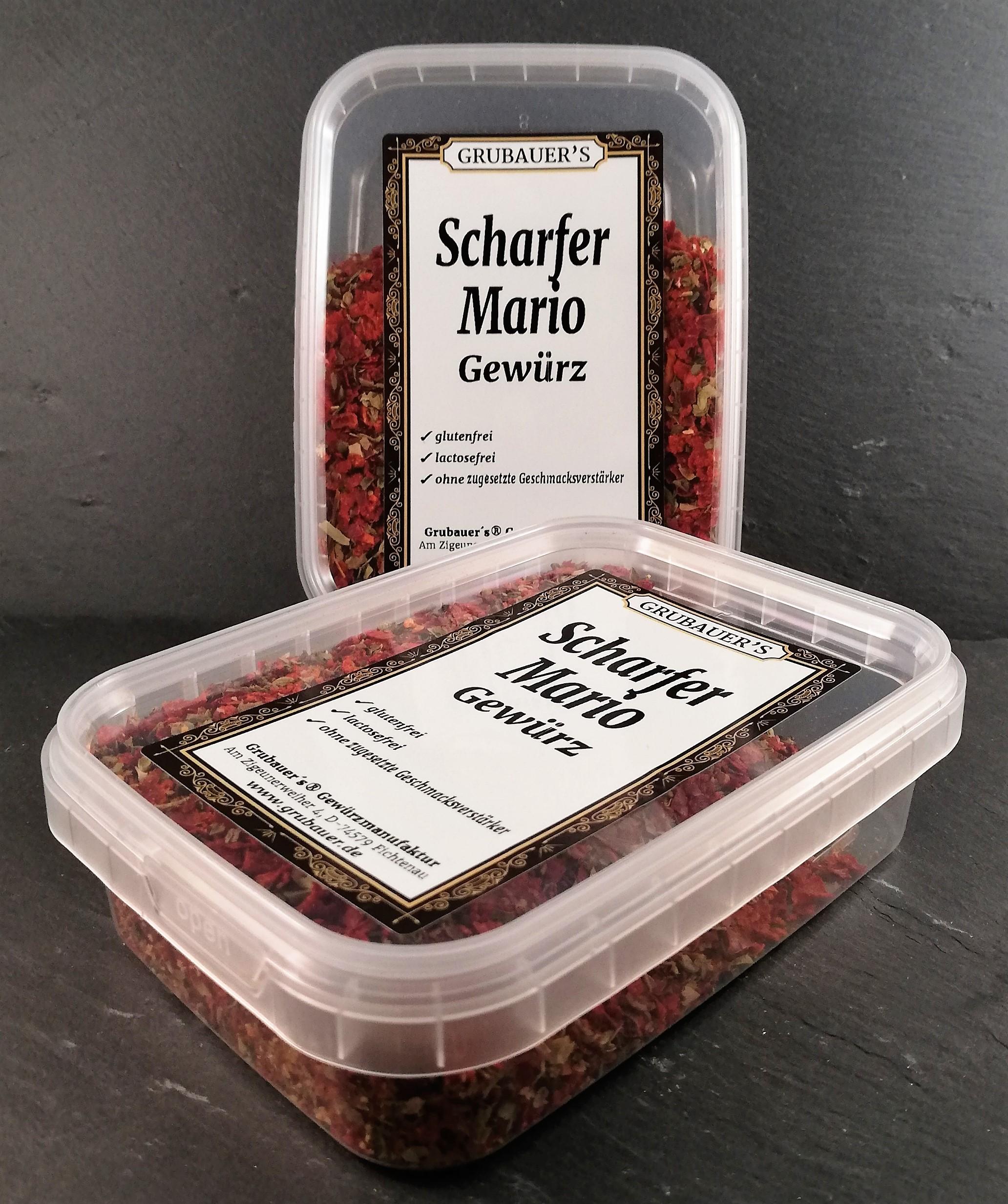 Scharfer Mario