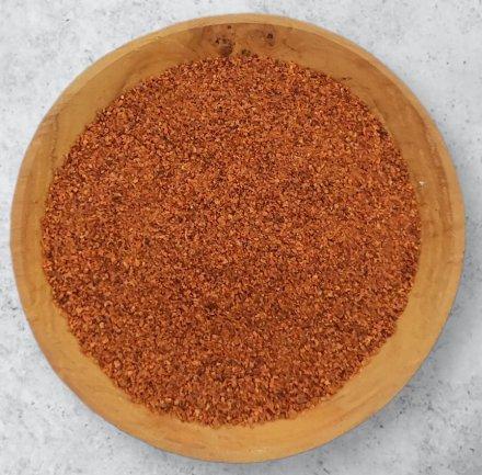 Chillies (Naga/Bih Jolokia) gemahlen