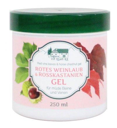 Rotes Weinlaub & Rosskastanien Gel 250ml