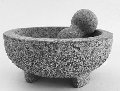 Mörser aus Granit 20x9cm