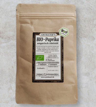Paprika edelsüß - BIO