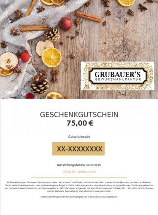 Gutschein 75,00 EUR