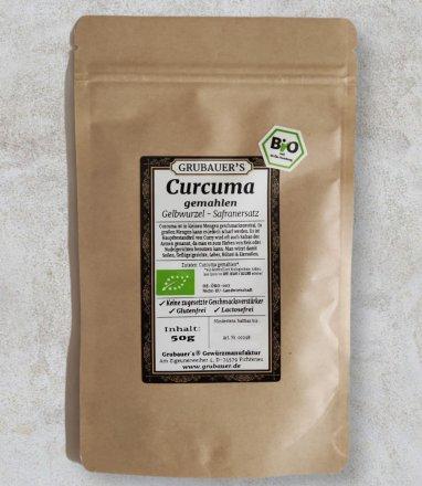 Curcuma gemahlen - BIO