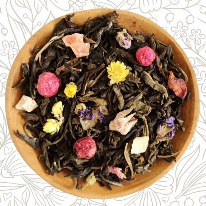 Tee der langen Freundschaft (Weißer Tee)